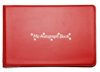 Red 'My Autograph Book' Autograph Book
