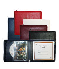Zippered Autograph Books
